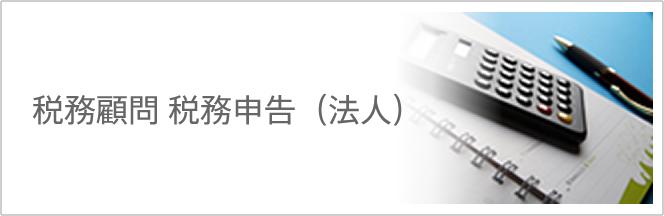 税務顧問 税務申告(法人)